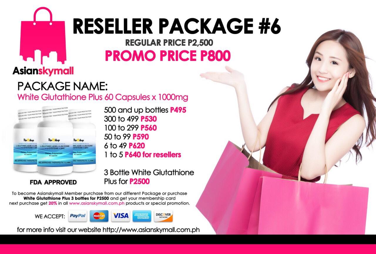 Asianskymall Reseller Package 6