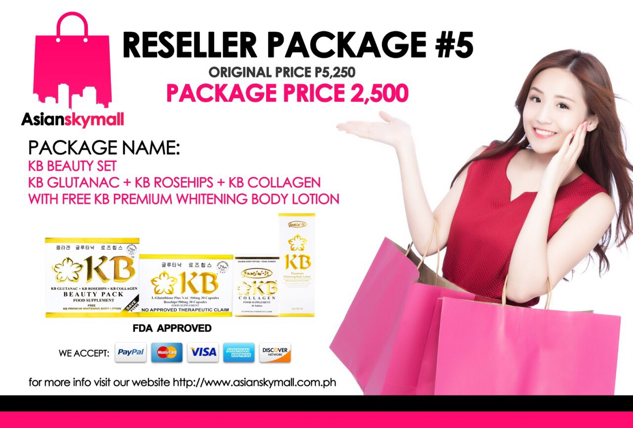Asianskymall Reseller Package 5